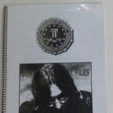 Catálogos de Música: THE BEATLES - JOHN LENNON. F.B.I. FILES. Lote 169667574