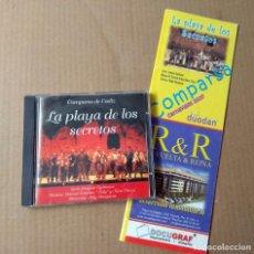 Catálogos de Música: CARNAVAL DE CADIZ 2007 COMPARSA LA PLAYA DE LOS SECRETOS LIBRETO + CD. Lote 169830380