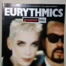 Catálogos de Música: PARTITURAS EURYTHMICS GREATEST HITS ARREGLOS PARA VOZ PIANO Y GUITARRA WISE PUBLICATIONS 2018. Lote 170425568