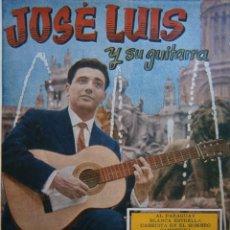 Catálogos de Música: JOSE LUIS Y SU GUITARRA CANCIONERO BISTAGNE HERSANT 1959. Lote 170429888