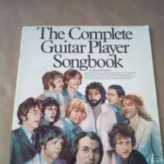 Catálogos de Música: SONGBOOK-THE COMPLETE GUITAR PLAYER -BY RUSS SHIPTON-1980 WISEV PUBLICATIONS-INGLES. Lote 170487380
