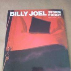 Catálogos de Música: SONGBOOK-BILL JOEL STORM FRONT -PIANO .VOCAL.GUITAR-1990-INGLES-HP. Lote 170488916