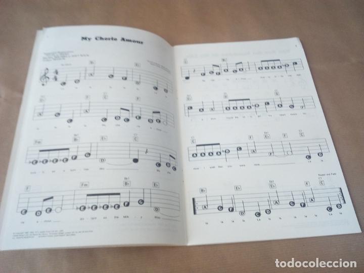 Catálogos de Música: SONGBOOK-SFX-15 STEVIE WONDER-FOR PIANO/ORGANS ,KEYBOARDS GUITAR AND VOCAL-1984-INGLES- - Foto 5 - 170493816
