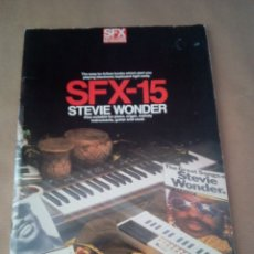 Catálogos de Música: SONGBOOK-SFX-15 STEVIE WONDER-FOR PIANO/ORGANS ,KEYBOARDS GUITAR AND VOCAL-1984-INGLES-. Lote 170493816