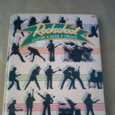 Catálogos de Música: ROCKSCHOOL- GUITAR -BASS-DRUMS-BBC -1984 INGLES. Lote 170498260