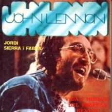 Catálogos de Música: JORDI SERRA I FABRA : JOHN LENNON (TEOREMA, 1981). Lote 170543232