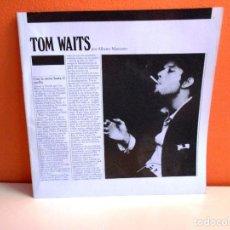 Catálogos de Música: TOM WAITS POR ALBERTO MANZANO.. Lote 171267565