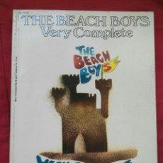 Catálogos de Música: THE BEACH BOYS. VERY COMPLETE. 1966. ENVIO CERTIFICADO INCLUIDO.. Lote 171353735