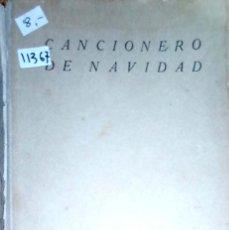 Catálogos de Música: 11367 - CANCIONES DE NAVIDAD - POR ADOLFO MAILLO - AÑO 1942. Lote 171554772