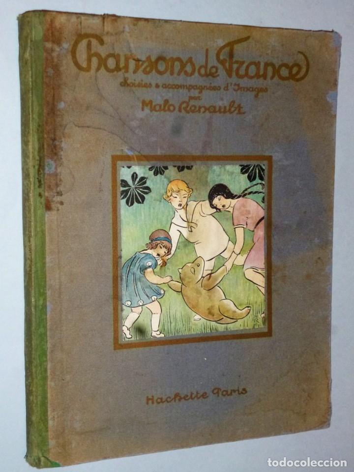 CHANSONS DE FRANCE, CHOISIES & ACCOMPAGNÉES D´IMAGES (Música - Catálogos de Música, Libros y Cancioneros)