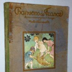 Catálogos de Música: CHANSONS DE FRANCE, CHOISIES & ACCOMPAGNÉES D´IMAGES. Lote 172251819