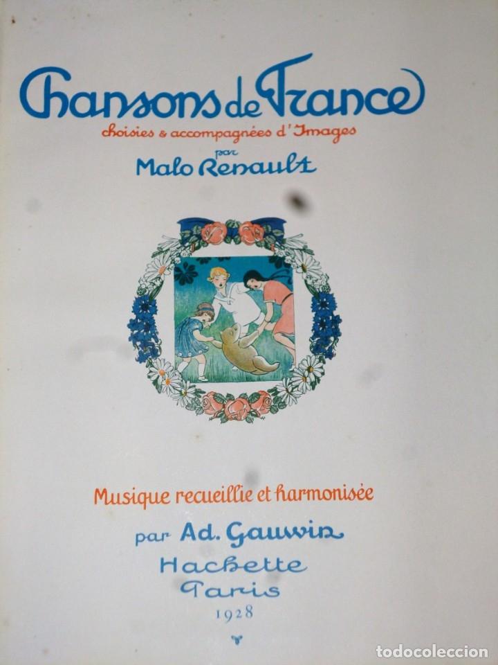 Catálogos de Música: CHANSONS DE FRANCE, CHOISIES & ACCOMPAGNÉES D´IMAGES - Foto 2 - 172251819