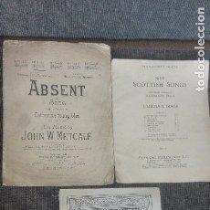 Catálogos de Música: 3 LIBROS DE PARTITURAS.PRINCIPIOS SIGLO XX. 1. Lote 172603130