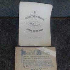 Catálogos de Música: LIBRETOS DE PARTITURAS.INGLATERRA.PRINCIPIOS SIGLO XX.... Lote 172603727