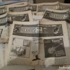 Catálogos de Música: CATALOGO DE DISCOS ROCKHOUSE 1987/89 ROCKABILLY NEO ROCKABILLY LOTE DE 8- LP SINGLE. Lote 172990987