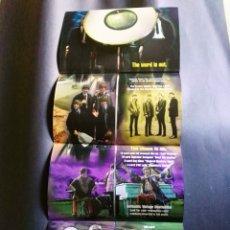 Catálogos de Música: DESPLEGABLE CROMOS THE BEATLES APPLE CORPS . Lote 173799544