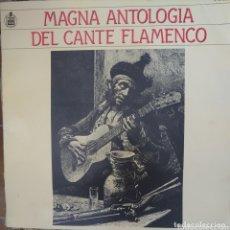Catálogos de Música: MAGNA ANTOLOGÍA DEL CANTE FLAMENCO DEL SELLO HISPAVOX LIBRO DE 84 PÁGINAS.AÑO 1982.. Lote 174105149