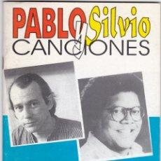 Catálogos de Música: PABLO MILANES - SILVIO RODRIGUEZ - 51 CANCIONES CON ACORDES PARA GUITARRA - LA HABANA 1998. Lote 174141897