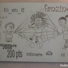 Catálogos de Música: FANZINE TU EN TI, NUMERO ALFA. DICIEMBRE 2000. Lote 174252420