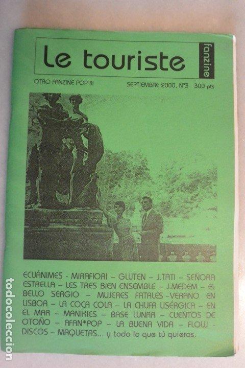 FANZINE LE TURISTE , NUMERO 3, SEPTIEMBRE 2000 (Música - Catálogos de Música, Libros y Cancioneros)