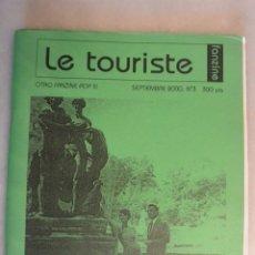 Catálogos de Música: FANZINE LE TURISTE , NUMERO 3, SEPTIEMBRE 2000. Lote 174252545