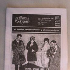 Catálogos de Música: FANZINE EL EFECTO OREGANO, Nº 6 NOVIEMBRE 2001. Lote 174253073