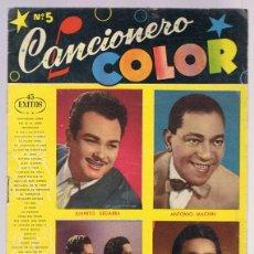 Catálogos de Música: CANCIONERO COLO Nº 5 ANTONIO MACHIN. Lote 174393890