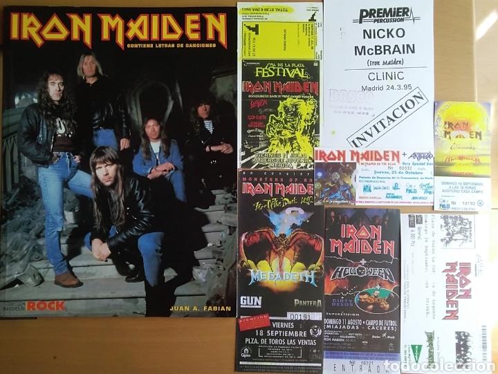 Catálogos de Música: IRON MAIDEN - Foto 10 - 175553982