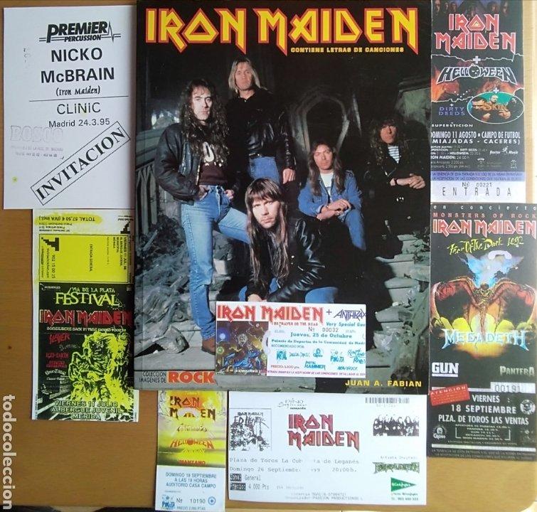 Catálogos de Música: IRON MAIDEN - Foto 11 - 175553982