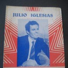 Catálogos de Música: CANCIONERO 1970 JULIO IGLESIAS. FESTIVAL DE SAN REMO. EDICIONES MARAZUL, BARCELONA. Lote 233348715
