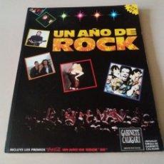 Catálogos de Música: REVISTA UN AÑO DE ROCK. 1989. MUY BUEN ESTADO. Lote 176033758