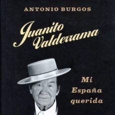 Catálogos de Música: JUANITO VALDERRAMA. ANTONIO BURGOS.. Lote 176382750