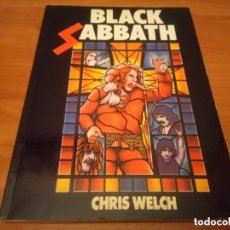 Catálogos de Música: BLACK SABBATH RARE BOOK BY CHRIS WELCH ORIG. 1982-DEEP PURPLE-DIO-IRON MAIDEN-RAINBOW *RAREZA*. Lote 176392413
