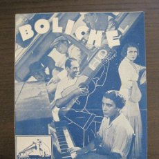 Catálogos de Música: BOLICHE-CATALOGO MUSICA LA VOZ DE SU AMO-NOVIEMBRE 1933-VER FOTOS-(V-17.594). Lote 176575438