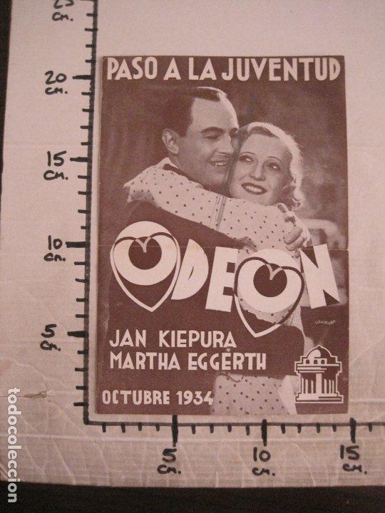 Catálogos de Música: KIEPURA & EGGERTH-PASO A LA JUVENTUD-CATALOGO MUSICA ODEON-OCTUBRE 1934-VER FOTOS-(V-17.596) - Foto 4 - 176575959