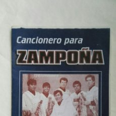Catálogos de Música: CANCIONERO PARA ZAMPOÑA. Lote 176609647