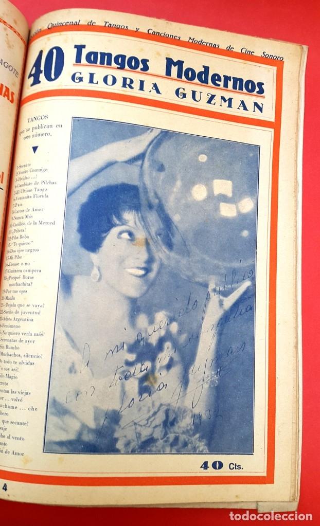 Catálogos de Música: CANCIONEROS - 40 TANGOS MODERNOS - 5 REVISTAS - Foto 4 - 177605049