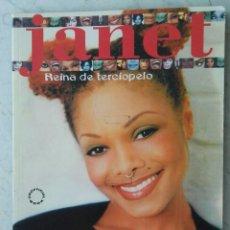 Catálogos de Música: JANET JACKSON REINA DE TERCIOPELO. Lote 177613393