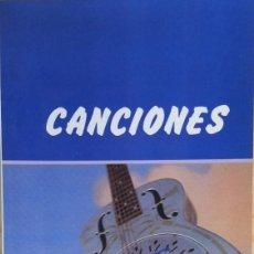 Catálogos de Música: DIRE STRAITS - CANCIONES - COLECCIÓN ESPIRAL 104, EDITORIAL FUNDAMENTOS, 1986. Lote 177619947