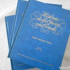 Catálogos de Música: HISTORIA DE LA OPERA EN OVIEDO. OBRA EN 3 TOMOS. LUIS ARROES PEON. TOMO I: 1948 - 1957. TOMO II: 195. Lote 177785877