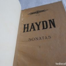 Catálogos de Música: HAYDN SONATAS. Lote 177832450