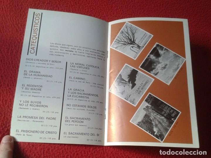 Catálogos de Música: ANTIGUO CATÁLOGO MUSICAL MÚSICA RELIGIOSA RELIGIÓN DISCOS EDICIONES PAULINAS 1970 CANCIÓN TESTIMONIO - Foto 4 - 178269143