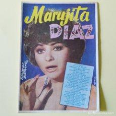 Catálogos de Música: MARUJITA DIAZ - CANCIONERO BISTAGNE - AÑOS 60. Lote 178564112
