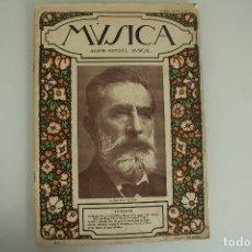 Catálogos de Música: MUSICA ALBUM REVISTA MUSICAL Nº 1. Lote 178670298