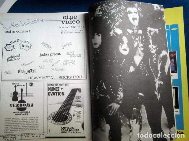 Catálogos de Música: KISS REVISTA CLUB DE FANS ORIGINAL EPOCA Nº4 HEAVY ROCK FOTOGRAFIAS Y ARTICULOS COMPLETA - Foto 3 - 178865260