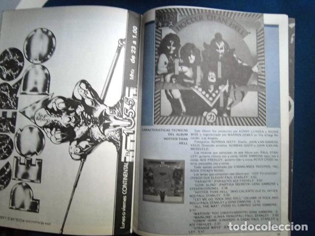 Catálogos de Música: KISS REVISTA CLUB DE FANS ORIGINAL EPOCA Nº4 HEAVY ROCK FOTOGRAFIAS Y ARTICULOS COMPLETA - Foto 4 - 178865260