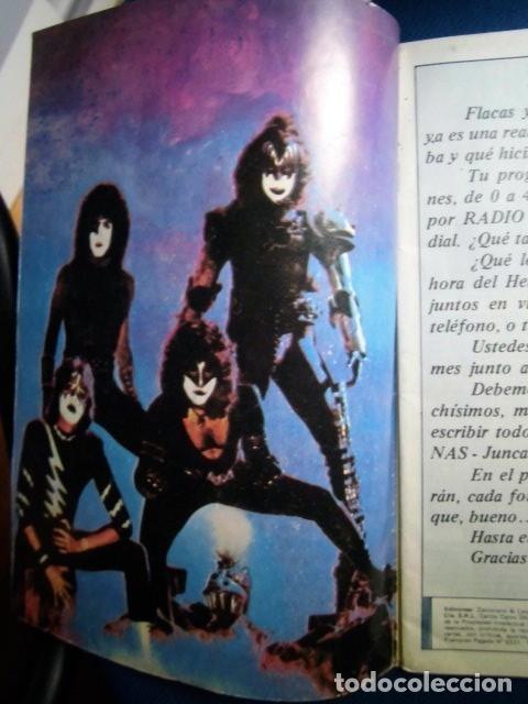Catálogos de Música: KISS REVISTA CLUB DE FANS ORIGINAL EPOCA Nº4 HEAVY ROCK FOTOGRAFIAS Y ARTICULOS COMPLETA - Foto 5 - 178865260