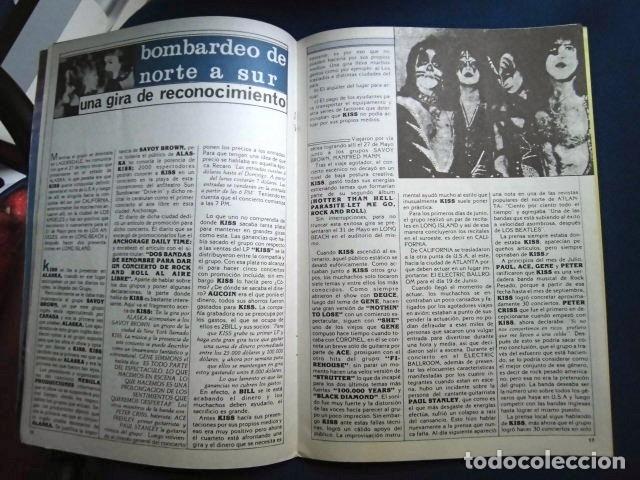 Catálogos de Música: KISS REVISTA CLUB DE FANS ORIGINAL EPOCA Nº4 HEAVY ROCK FOTOGRAFIAS Y ARTICULOS COMPLETA - Foto 10 - 178865260