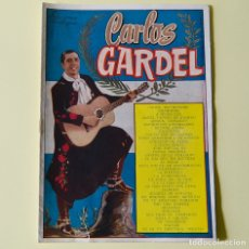 Catálogos de Música: CARLOS GARDEL - CANCIONERO BISTAGNE - AÑOS 60. Lote 178946595