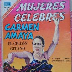 Catálogos de Música: CARMEN AMAYA BIOGRAFÍA EN CÓMIC EDITADA EN MÉXICO AÑO 1966, 32 PÁGINAS.. Lote 179553251
